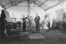 Werkplaats aan de Willaerlaan, 1949