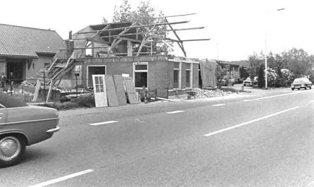 Sloop van het pand in 1977.