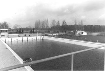 Het nieuwe bassin, 1974.