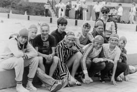 Jongens aspirantenteam,1983.