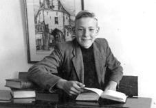 Andries van den Berg, omstreeks 1950.