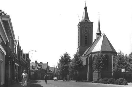 De Ned. Herv. kerk, omstreeks 1960.