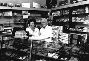 In 1992 sluit bakkersechtpaar Esser hun bakkerszaak aan de Stationsweg.