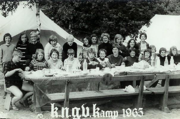 Zomerkamp in Beekbergen 1965
