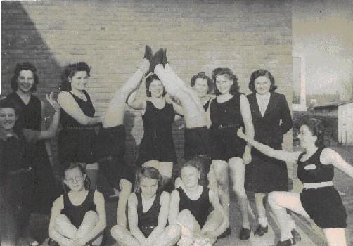 Dames  in de jaren vijftig
