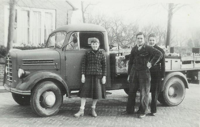 Joke, Herman en Gerrit Pul, ± 1955
