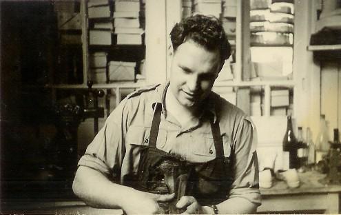 Gerrit Geytenbeek, jaren vijftig.