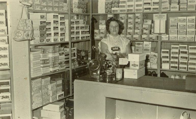 Jenny Geytenbeek, jaren vijftig.