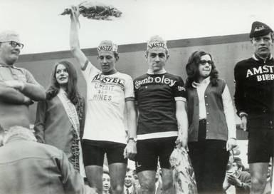 Circuit des Mines 1969. Joop, Matthijs en Arnold